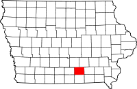 Monroe County in Iowa
