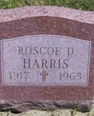 Roscoe Harris headstone