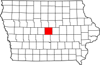 Story County map