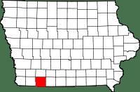 Taylor County in Iowa