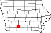 Union County in Iowa