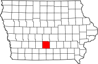 Warren County in Iowa