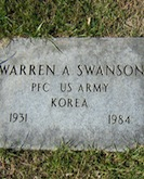 Warren Swanson headstone