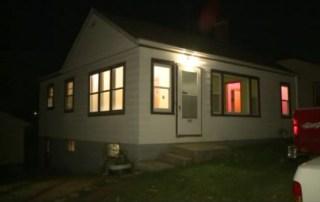 The home where Hazel Reimann was slain