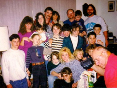 Jay Grahlman's large family