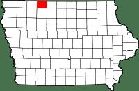 Emmet County in Iowa