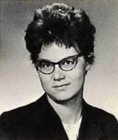 Gloria Slump's high school yearbook photo (Courtesy ancestry.com)