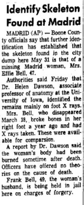 Courtesy Muscatine Journal, June 11, 1966