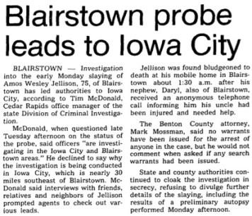 Courtesy the Gazette, Aug. 5, 1981