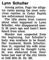 Lynn Schuller news clip