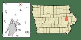 Coggon in Linn County, Iowa