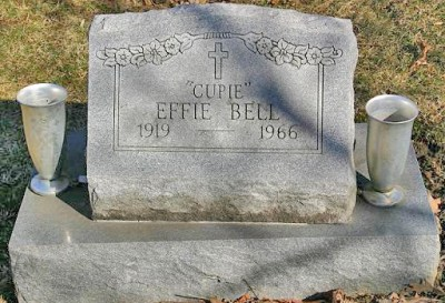 Effie Bell gravestone