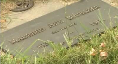 Maureen Brubaker Farley's gravestone