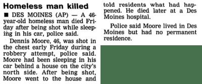 Courtesy Cedar Rapids Gazette, June 20, 1992
