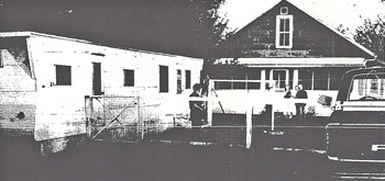 Robert Clary crime scene