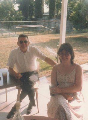 Boyd Novinger with daughter Christy