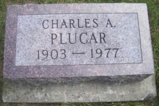 Charles Plucar gravestone