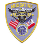 Muscatine Police Department badge