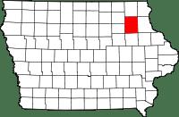 Fayette County in Iowa