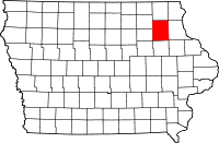 Fayette County in Iowa