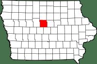 Hamilton County in Iowa