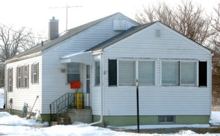 Ila Mae Clark home after murder