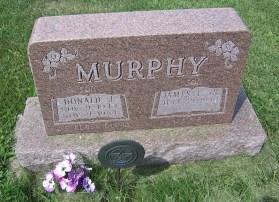 Donald Murphy gravestone