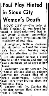 Courtesy Mason City Globe-Gazette, Dec. 16, 1958