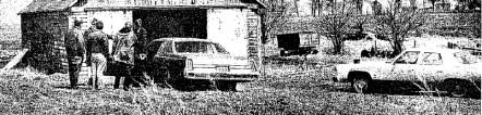 Terry Vanden Hull murder scene