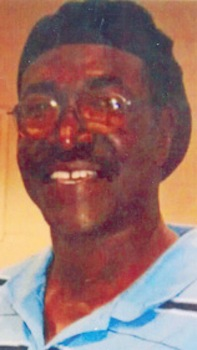 Reginald Parham, the victim's brother. (Courtesy WCF Courier)
