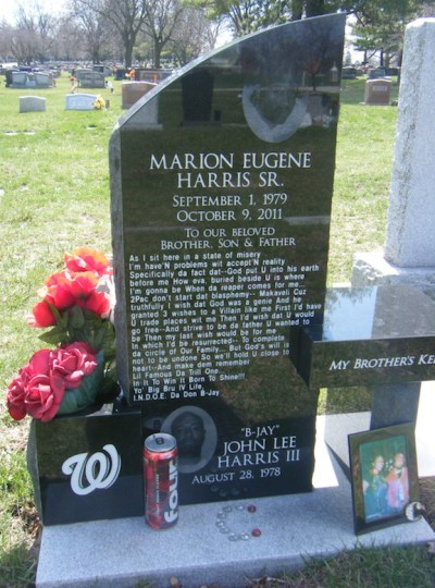 marion-harris-gravestone