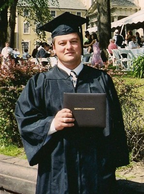 Adam Lack graduates from Brown University