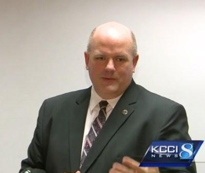 DCI Agent Mike Motsinger (Courtesy KCCI.com)