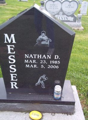 Nathan Messer gravestone