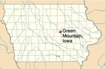 Green Mountain in Marshall County, Iowa