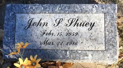 John Shuey gravestone