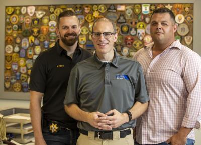 Jim Doty, Tony Kava and Ryan Avis
