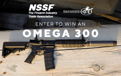 +ONE and NSSF – Enter to Win a SilencerCo Omega 300