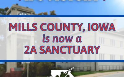 Iowa's Latest 2A Sanctuary County – Mills!