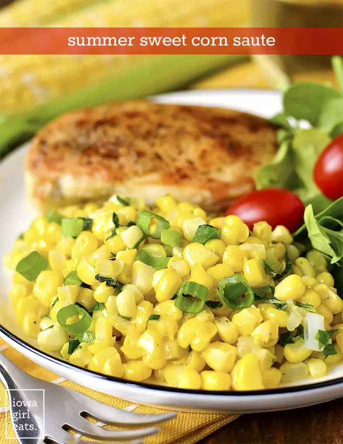 summer sweet corn saute