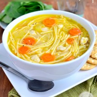 Gluten-Free Homemade Chicken Noodle Soup (Video)