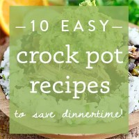 10 Easy Crock Pot Recipes