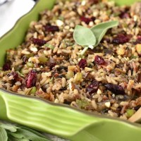 Best Ever Wild Rice Stuffing (Video)