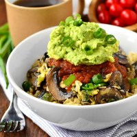 Very-Veggie Cauliflower Hash Brown Breakfast Bowl + 5 Cauliflower Rice Recipes