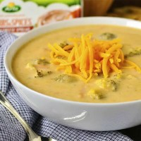 Crock Pot Broccoli-Cheddar Potato Soup