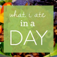 What I (and My Kids) Ate In a Day