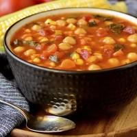 Summer Chickpea Stew