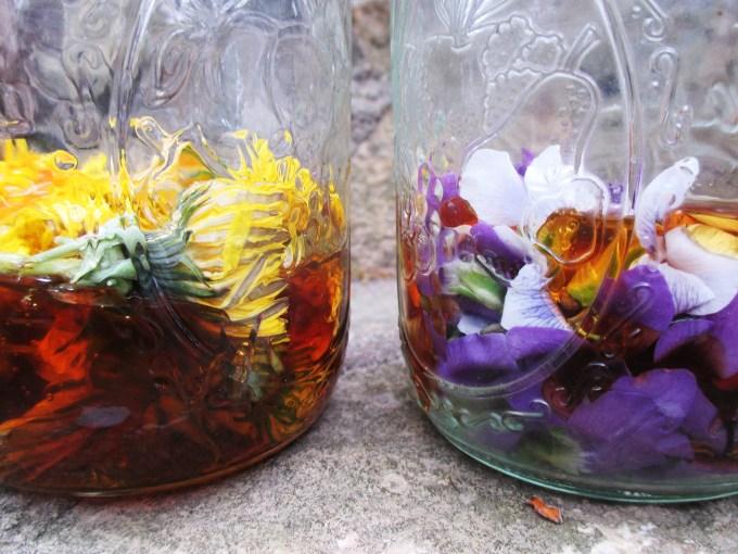 Flowers Soaked in Honey | Deer Nation Herbs