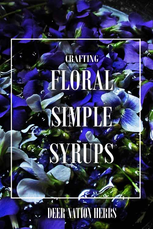 Hand craft these delicately delicious syrups for a cooling, sweet treat topping or cocktail addition - with some healing benefits to boot.
