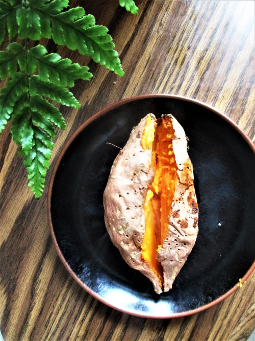 Baked Sweet Potato | Iowa Herbalist